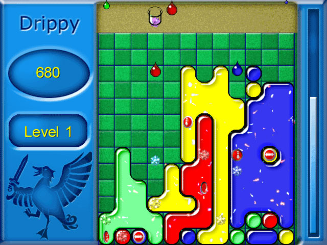 Drippy, Goo, Drop, Puzzle, Tetris, Columns, Screaming Duck, Addictive, Fun